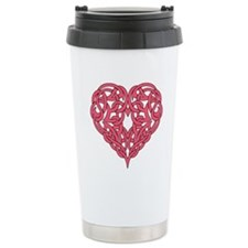 CELTIC HEART-PINK Travel Mug