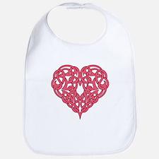 CELTIC HEART-PINK Bib