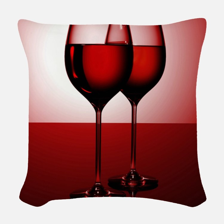 WINE IS... Woven Throw Pillow