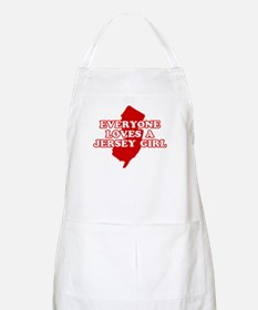 Everyone Loves a Jersey Girl BBQ Apron