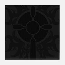 Gothic Cross Tile Coaster