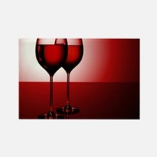 WINE IS... Rectangle Magnet