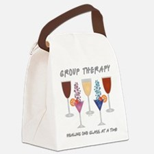 GROUP THERAPY Canvas Lunch Bag