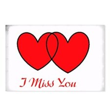 I Miss You Postcards (Package of 8)