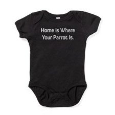 Home Is Where ... Baby Bodysuit