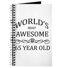 World's Most Awesome 65 Year Old Journal
