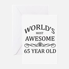 World's Most Awesome 65 Year Old Greeting Cards (P