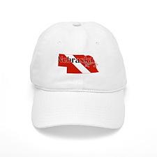 Nebraska Diver Baseball Cap