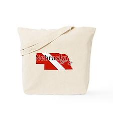 Nebraska Diver Tote Bag