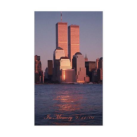 9/11... In Memory (sticker)