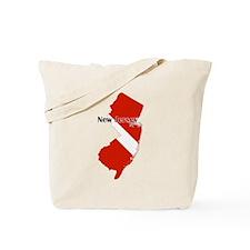 New Jersey Diver Tote Bag