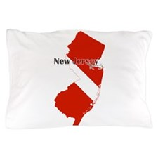 New Jersey Diver Pillow Case