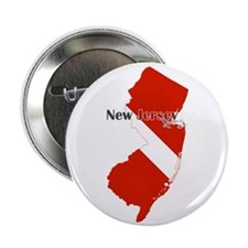 "New Jersey Diver 2.25"" Button"