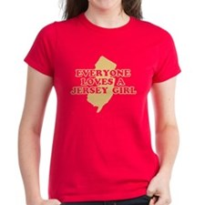 Everyone Loves a Jersey Girl Tee