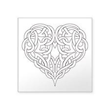 CELTIC HEART-OUTLINE Sticker