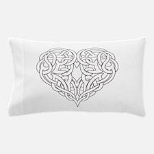 CELTIC HEART-OUTLINE Pillow Case