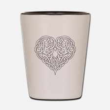 CELTIC HEART-OUTLINE Shot Glass