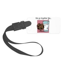 Cookies and Milk Luggage Tag