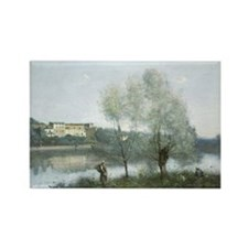 Jean-Baptiste-Camille Corot - Vil Rectangle Magnet