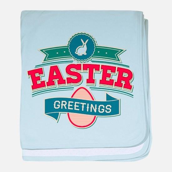 Easter Greetings baby blanket