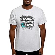 Ovarian Cancer Fought Won T-Shirt