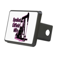 Spoiled Oilfield Wife Jewelry Hitch Cover