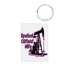 Spoiled Oilfield Wife Jewelry Keychains