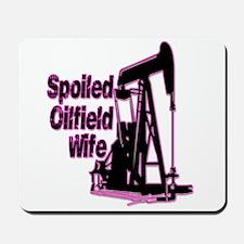 Spoiled Oilfield Wife Jewelry Mousepad