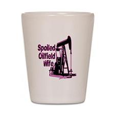 Spoiled Oilfield Wife Jewelry Shot Glass