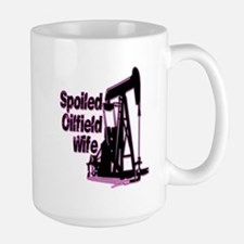 Spoiled Oilfield Wife Jewelry Mugs