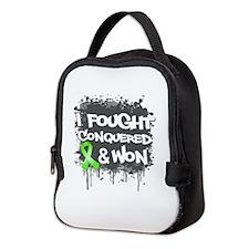 Non-Hodgkins I Fought Won Neoprene Lunch Bag