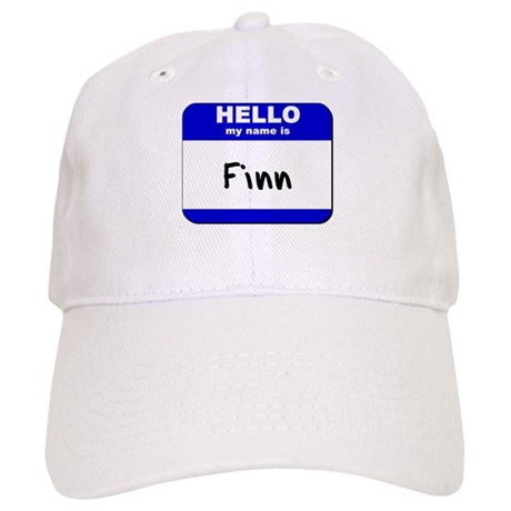 hello my name is finn Cap