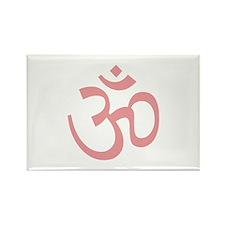 Yoga Ohm, Om Symbol, Namaste Rectangle Magnet (100