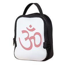 Yoga Ohm, Om Symbol, Namaste Neoprene Lunch Bag