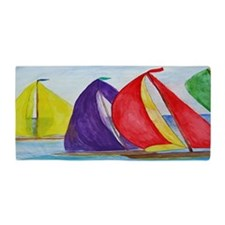 Colorful Sails Beach Towel