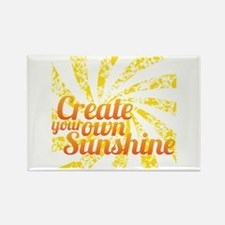 Create Sunshine Rectangle Magnet