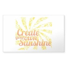 Create Sunshine Decal