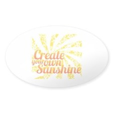 Create Sunshine Decal