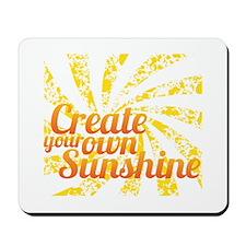 Create Sunshine Mousepad