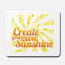 Create Sunshine Mousepad