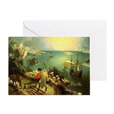 Fall of Icarus Greeting Card
