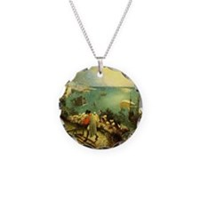 Fall of Icarus Necklace