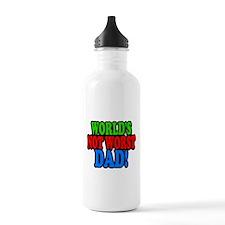 Worlds Not Worst Dad Water Bottle