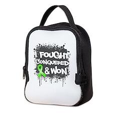 Lymphoma I Fought Won Neoprene Lunch Bag