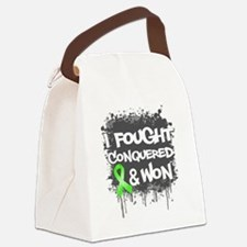 Lymphoma I Fought Won Canvas Lunch Bag