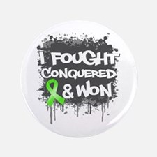 "Lymphoma I Fought Won 3.5"" Button (100 pack)"