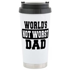 Worlds Not Worst Dad Travel Mug