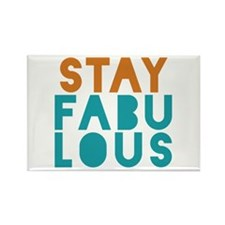 Stay Fabulous Rectangle Magnet (10 pack)