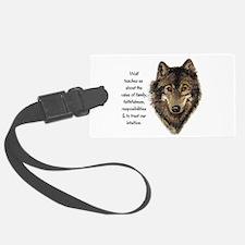 Wolf Totem Animal Guide Watercolor Nature Art Larg