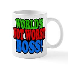 Worlds Not Worst Boss Mugs
